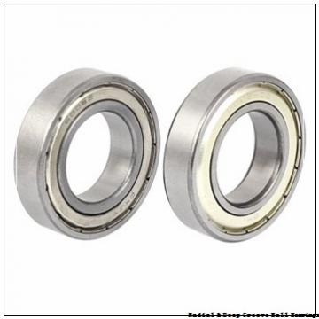 0.6250 in x 1.5000 in x 0.4375 in  Nice Ball Bearings (RBC Bearings) SRM104807BF18 Radial & Deep Groove Ball Bearings