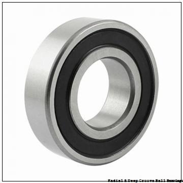 0.6250 in x 1.5000 in x 0.4375 in  Nice Ball Bearings (RBC Bearings) SRM104807BF18 Radial & Deep Groove Ball Bearings
