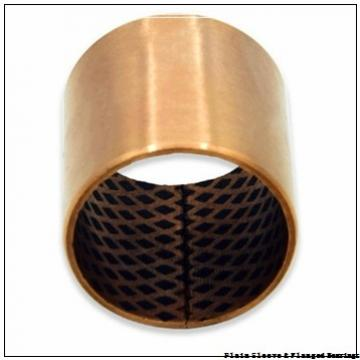 Oilite AA744-09B Plain Sleeve & Flanged Bearings
