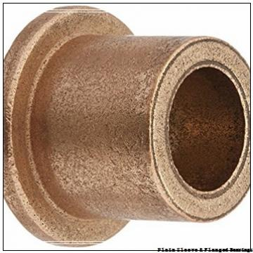 Oiles 80F-1206 Plain Sleeve & Flanged Bearings