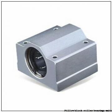 2.188 Inch | 55.575 Millimeter x 3.75 Inch | 95.25 Millimeter x 2.5 Inch | 63.5 Millimeter  Sealmaster RPB 203-2 Pillow Block Roller Bearing Units