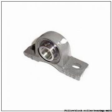 2.188 Inch | 55.575 Millimeter x 3.03 Inch | 76.962 Millimeter x 2.5 Inch | 63.5 Millimeter  Dodge SEP2B-IP-203RE Pillow Block Roller Bearing Units